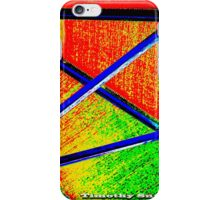 rainbow distraction  iPhone Case/Skin