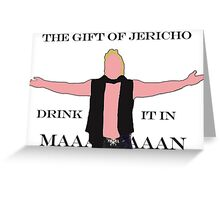 The Gift of Jericho Greeting Card
