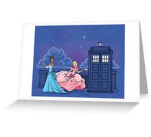 The Princess and the Doctor Greeting Card