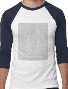 The Front Bottoms Self-TItled Men's Baseball ¾ T-Shirt