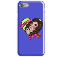 Shhhh... No One Cares iPhone Case/Skin