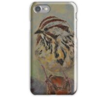 Lincoln's Sparrow iPhone Case/Skin