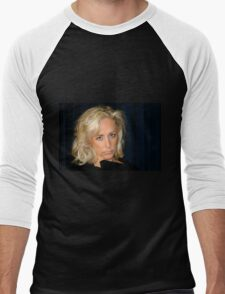 Blond Woman Men's Baseball ¾ T-Shirt