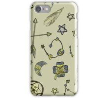 Boho Magic in Parchment by Let's be Boho iPhone Case/Skin