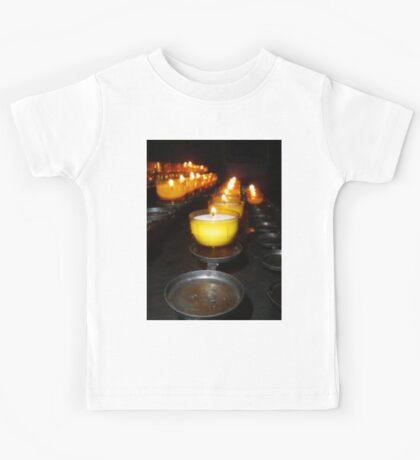 Church Candles Kids Tee