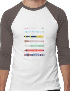 Custom Sonic Screwdrivers Men's Baseball ¾ T-Shirt