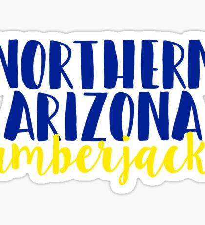 Northern Arizona Lumberjacks Sticker