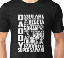 Daddy Super Saiyan Vegeta Unisex T-Shirt