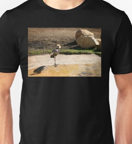 East African Crowned Crane Unisex T-Shirt