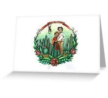 Frida y Diego Greeting Card