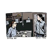 X-Files - Agents Photographic Print