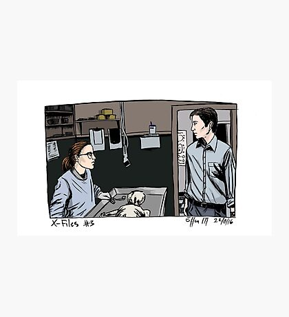 X-Files - Agents Photographic Print