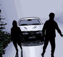 X-Files - Shadows Sticker