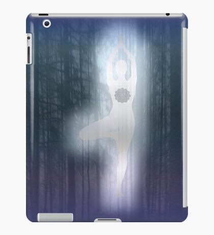 Forest Yoga iPad Case/Skin