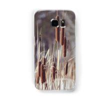 winter reeds Samsung Galaxy Case/Skin