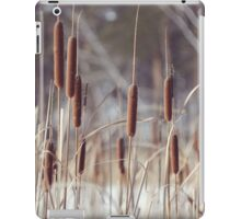 winter reeds iPad Case/Skin