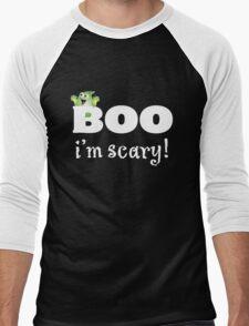 Boo! Did I scare you? Men's Baseball ¾ T-Shirt