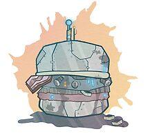 Robo-Burger by hannahstephey