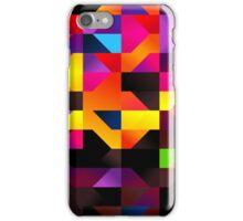 Neon background iPhone Case/Skin
