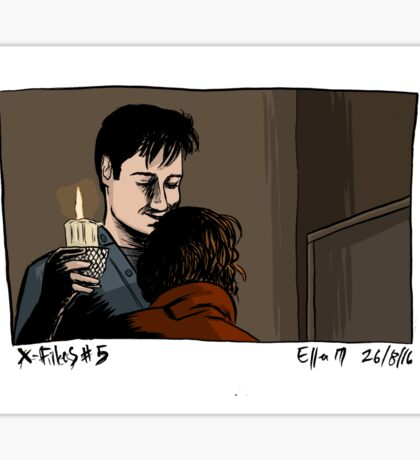 X-Files - Hug Sticker