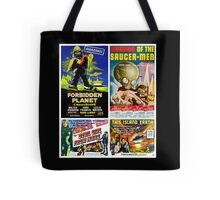 Sci-fi Movie Poster Collection #4 Tote Bag