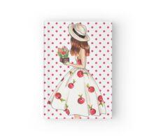 Cherry dress Hardcover Journal