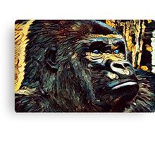 Ape Abstract Canvas Print