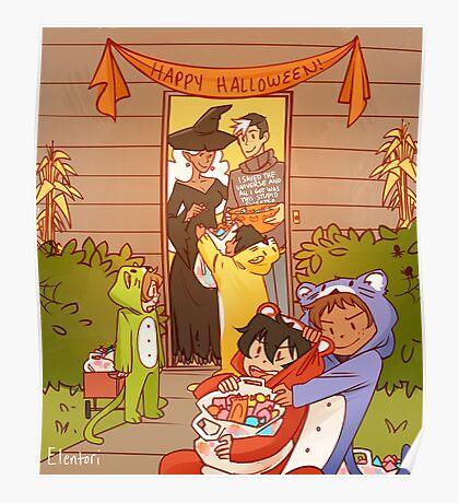 Voltron Halloween Poster