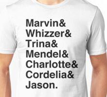 Falsettos Character List Unisex T-Shirt