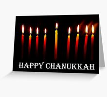 HAPPY CHANUKKAH CARD Greeting Card