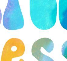 stress lesss~~~~ Sticker