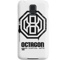 Octagon MMA Spray Logo (Black) Samsung Galaxy Case/Skin