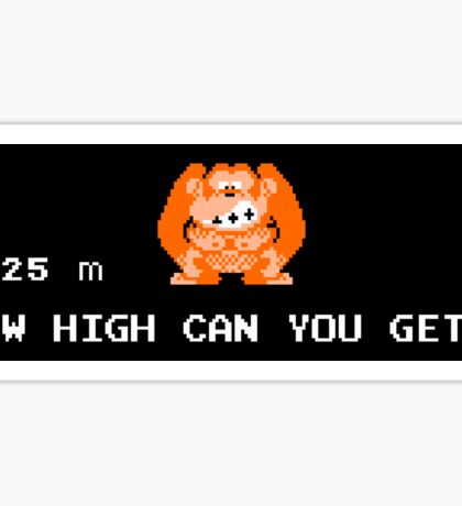 Donkey Kong – How High Can You Get? Sticker