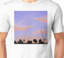 sunset neighborhood Unisex T-Shirt