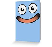 Huggable Slime Smile Greeting Card