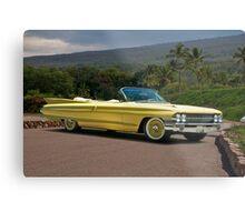 1961 Cadillac Series 62 Convertible Metal Print