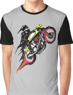 Retro Cafe Racer Graphic T-Shirt