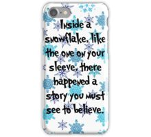 Snowflake Whos iPhone Case/Skin