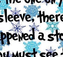 Snowflake Whos Sticker