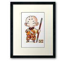 RPG Rules. Monk Framed Print