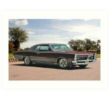 1967 Pontiac GTO 'Plum Crazy' Art Print