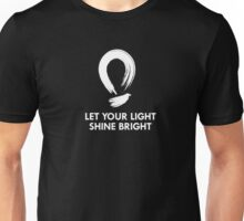 Let Your Light Shine Bright Unisex T-Shirt