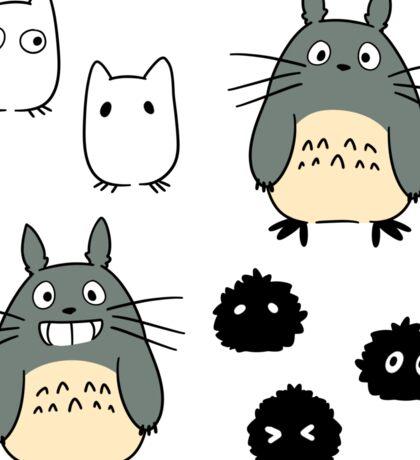 Totoro & Friends! Sticker
