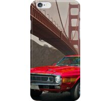 1971 Mustang Cobra GT500 iPhone Case/Skin