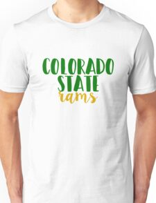 Colorado State Rams Unisex T-Shirt