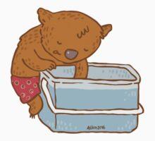 Aussie Wombat Kids Tee