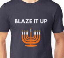 Blaze It Up - Funny Hanukkah Unisex T-Shirt