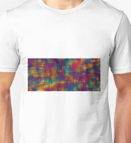 colorful painting abstract background  Unisex T-Shirt