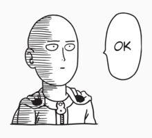 One Punch Man / OPM - Saitama Ok Kids Tee