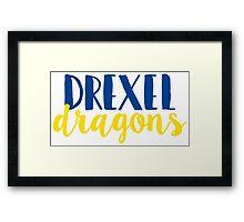 Drexel Dragons Framed Print